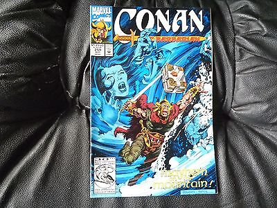 Conan the  Barbarian #  259 in nice condition  but for slight damp problem
