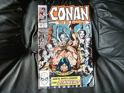 Conan the  Barbarian #  228 in nice condition  but for slight damp problem