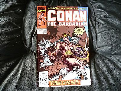 Conan the  Barbarian #  232 in nice condition  but for slight damp problem
