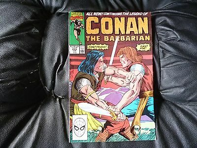 Conan the  Barbarian #  233 in nice condition  but for slight damp problem