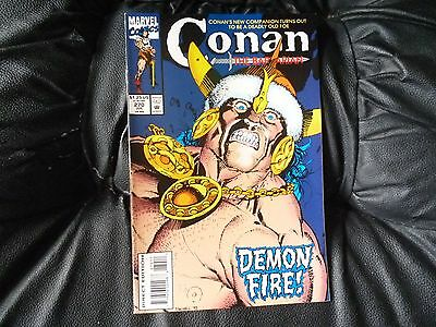 Conan the  Barbarian #  270 in nice condition  but for slight damp problem