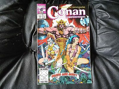 Conan the  Barbarian #  266 in nice condition  but for slight damp problem