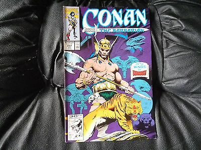 Conan the  Barbarian #  251 in nice condition  but for slight damp problem