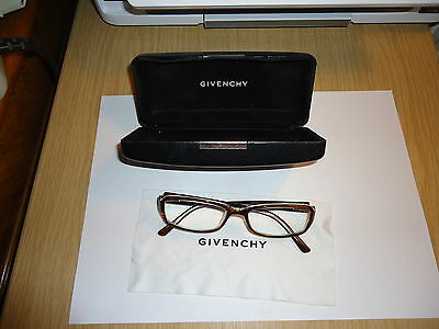 Givenchy Ladies Glasses Complete With Black Leather Heavy Case + Cloth