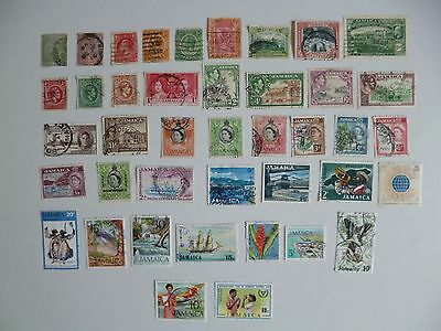 Jamaica. 1883/1981 - 41  Used  Definitive And Commemorative Stamps As Shown