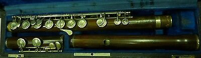 Antique Rudall carte & Co 20 Charing Cross London 1867 patent wooden Flute