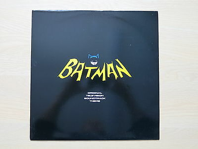 "BATMAN Original Television Theme UK 12"" single Nelson Riddle 1989 Mint"