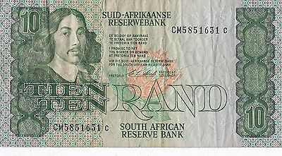 South Africa Ten Rand Banknote