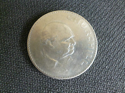 Sir Winston Churchill 1874-1965 Commemorative Crown Uncirculated