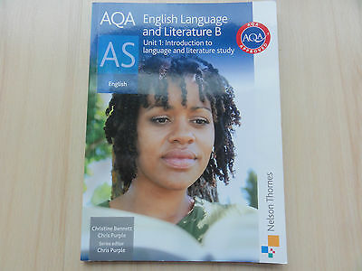 AQA English Language and Literature B A-Level AS text book