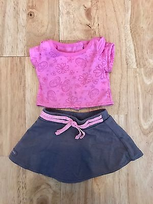 Genuine American Girl dolls outfit top and skirt
