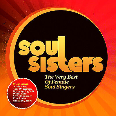 Soul Sisters Very Best Of New Sealed Cd Dusty Springfield,supremes,fontella Bass