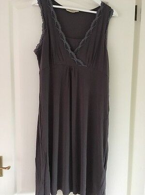 Maternity Nursing Nightie Large Blooming Marvellous Mothercare Grey Fit 12/14/16