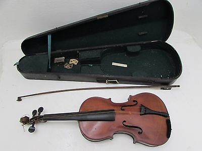 """Old Violin """"The Maidstone"""" By John G Murdock & Co London With Original Wood Case"""