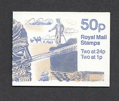 QE11 GB 1991 50p BOOKLET S.G.FB61 fine and full