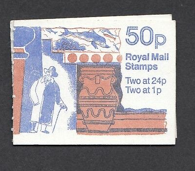 QE11 GB 1991 50p BOOKLET S.G.FB59 fine and full
