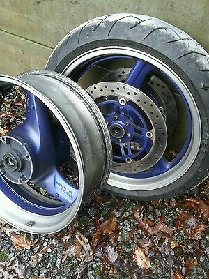 "17"" Honda Hornet 600 98-2006 wheels front & rear"