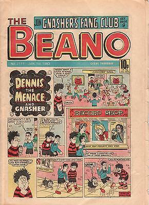 8 Beano Comics from 1983 (1) - see listing for dates/issues & comic's condition