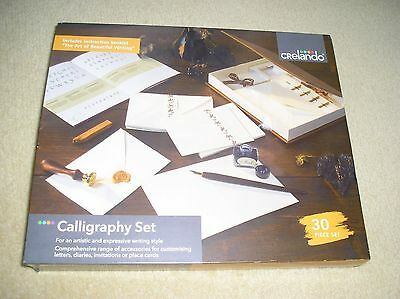 BN Crelando calligraphy set with instructions 30 pieces