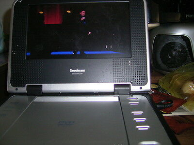 Goodmans 7 Inch Portable Dvd Player