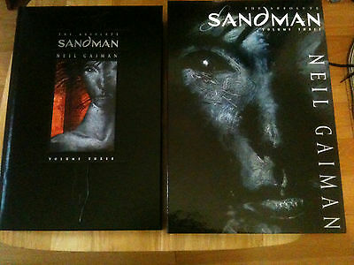 The Absolute Sandman Volume 3 Brand New Condition!!!