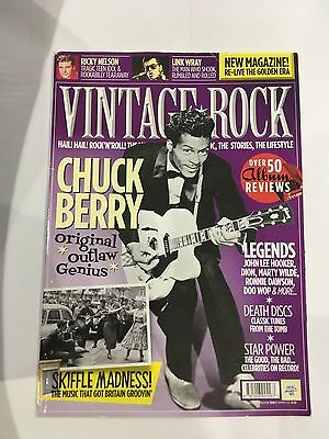 Vintage Rock magazine. Issue 3. Chuck Berry. Rare and collectible early issue
