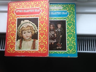Antique Collector's Dolls book 1 and 2 by Patricia R Smith