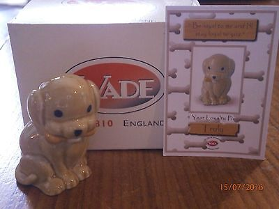 Wade Four Year Loyalty Piece, Truly, Complete with Certificate & Original Box