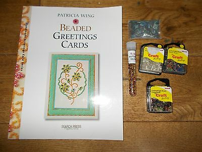 Bead Craft Instruction book and beads
