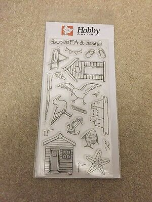 Hobby Art Summer Holiday Clear Stamps