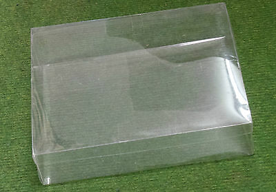 Job Lot of 10 Clear Acetate Storage Boxes 18cm x 23cm Ideal for craft stock