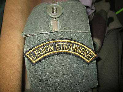 French Foreign Legion 2 REP current 2014-16 yr badge banana  patch-gold