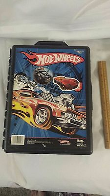 HOT WHEELS 48 Car Carrying CASE 1:64 Storage Portable Vehicle used Made in USA