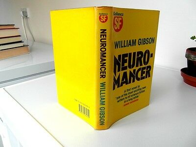 william gibson  neuromancer  1st edition signed in d/w