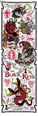 The Black Keys Melbourne S/N screenprint/poster by Rhys Cooper