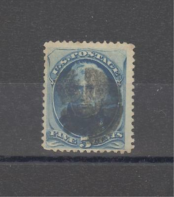 USA Scott# 185 5c blue; Zachary Taylor
