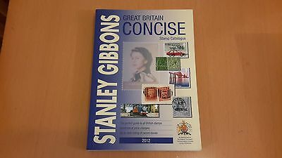 Stanley Gibbons Concise Stamp Catalogue Year 2012