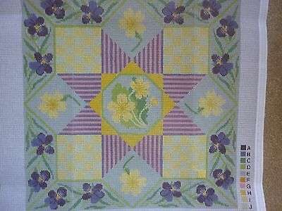 "New Readicut ""spring"" Half Cross Stitch Cushion Cover Tapestry Kit"