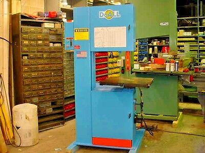 "2007 20"" Doall Model 2013-V Vertical Metal-Aluminum Cutting Band Saw Video Here"