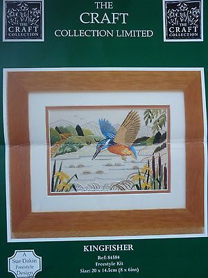Craft Collection Kingfisher Freestyle Embroidery Kit