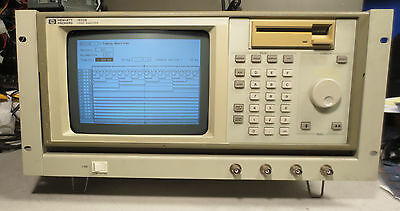 HP 1650B Logic Analysis System in Rackmount Frame - Working