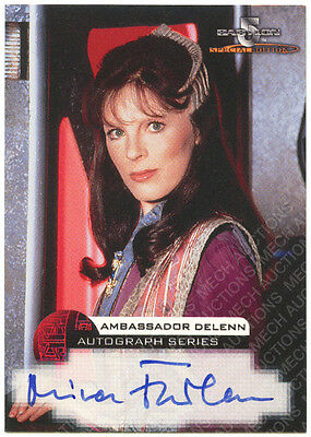 Babylon 5 Autograph Card Mira Furlan Delenn Skybox Special Edition Embossed 1997