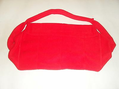 Hot Water Bottle with Fleece Cover perfect for back pain relief