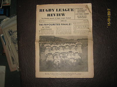 Rugby League Review June 1947