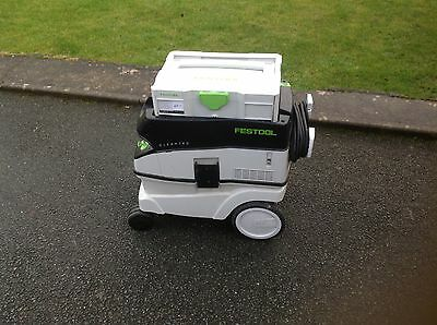 Festool ctl26e dust extractor with tools