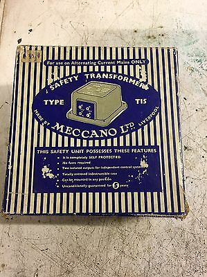 Vintage Meccano Safety Transformer Type T15 ~ Model Railway ~ Possibly  Unused