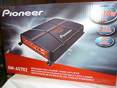 Pioneer GM-A5702 Bridgeable 2-Channel Power Amplifier Brand New in the box