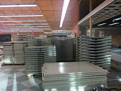 Lot of Used Lozier Store Shelving 640 Ft