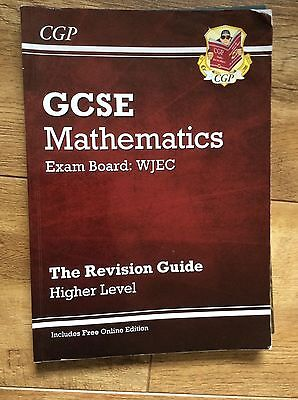 CGP - GSCE Higher Level Mathematics for WJEC