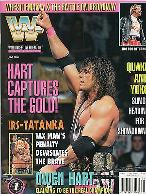 Wwf Magazine June 1994